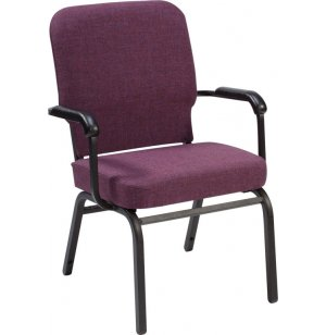 Oversized Church Chair with Arms