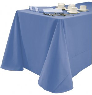 60x120 Tablecloth Dark Spun Polyester
