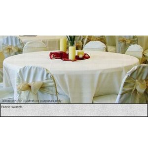 120in Round Tablecloth Light Spun Polyester