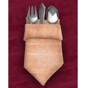 Dinner Napkins 20x20 12-Pack Damask