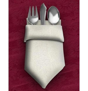 Dinner Napkins 20X20 12-Pack Light Spun Polyester