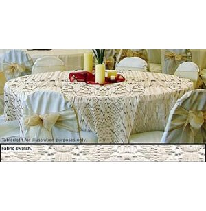 90in Round Lace Tablecloth