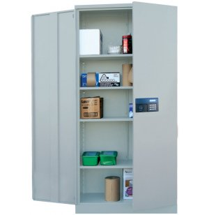 Steel Storage Cabinet with Digital Lock