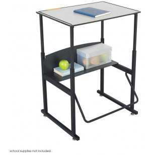 "Alphabetter Sit/Stand Desk - Premium Top, 28""x20"""
