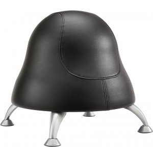 Runtz Preschool Ball Chair - Black Vinyl
