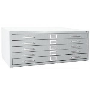 5-Drawer Flat File Cabinet for 30 x 42 Sheets