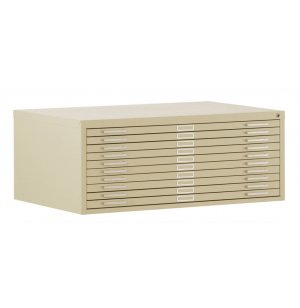 10-Drawer Flat File for 30 x 42 Sheets