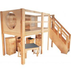 Explorer 5 Expanded Preschool Loft