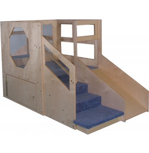 Adventurer Play Loft with Locking Storage