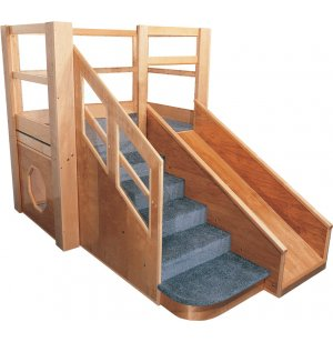 Deluxe Adventurer Toddler Play Loft