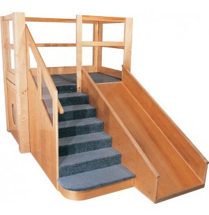 Deluxe Adventurer Older Toddler Play Loft