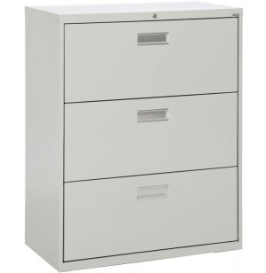 600 Series Lateral File Cabinet - 3 Drawer, 36