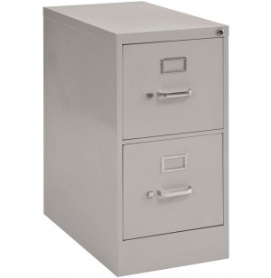 2-Drawer Vertical File Cabinet - Letter Sized