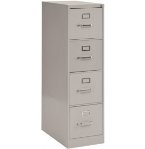 4-Drawer Vertical File Cabinet - Letter Sized