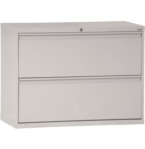 800 Series Lateral File Cabinet - 2 Drawer, 42