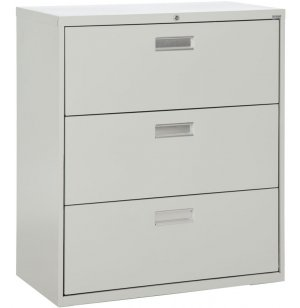 600 Series Lateral File Cabinet - 3 Drawer, 42