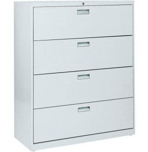 "600 Series Lateral File Cabinet - 4 Drawer, 42""W"