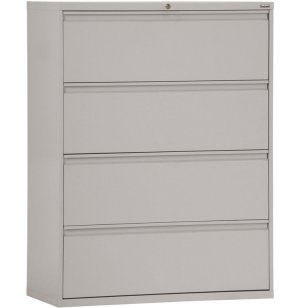 800 Series Lateral File Cabinet - 4 Drawer, 42