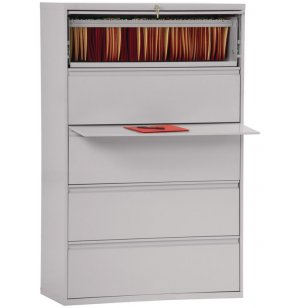 800 Series Lateral File Cabinet - 5 Drawer, 42