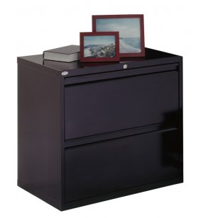 "800 Series Lateral File Cabinet - 2 Drawer, 30""W"