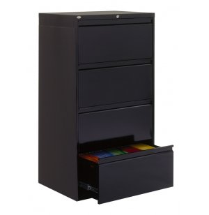 "800 Series Lateral File Cabinet - 4 Drawer, 30""W"
