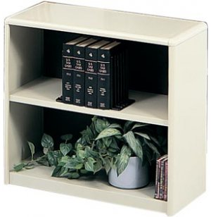 Radius Edge Steel Bookcase