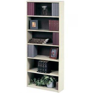 Radius Edge Steel Bookcase