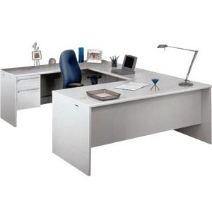 U-Shape Office Desk with Left Return