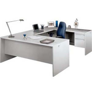 U-Shape Office Desk with Right Return