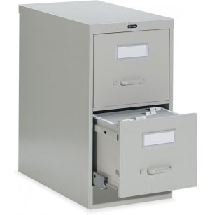 2-Drawer Letter Deluxe File Cabinet with Lock