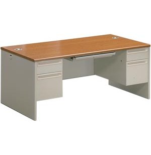 Executive Office Desk, Double Pedestal