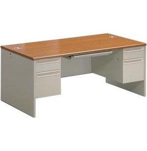Executive Office Desk, Double Pedestal