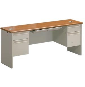 HON Locking Kneespace Office Computer Credenza