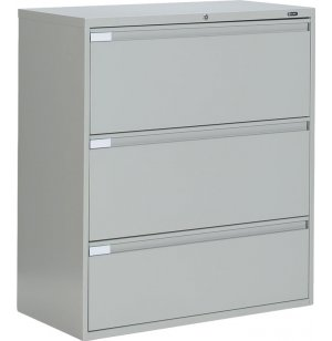 Full Pull Lateral Letter Legal File Cabinet -3 Drawer