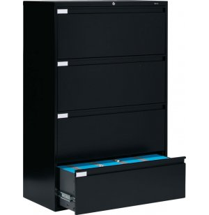 Full Pull Lateral Letter Legal File Cabinet -4 Drawer