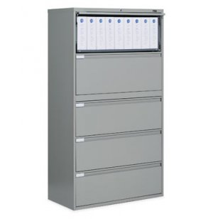 Full Pull Lateral Letter Legal File Cabinet -5 Drawer
