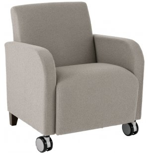 Siena Club Chair with Casters