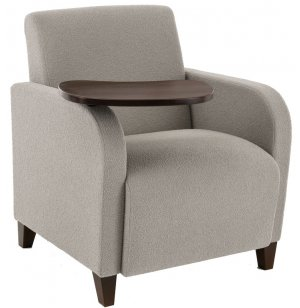 Siena Reception Chair with Swivel Tablet