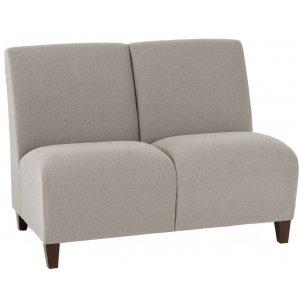 Siena 2-Seat Armless Sofa