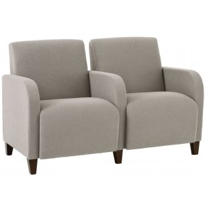 Siena 2-Seat Sofa w/Center Arms