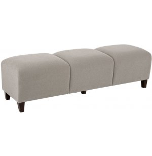 Siena 5-Seat Upholstered Bench