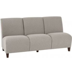 Siena 3-Seat Armless Sofa
