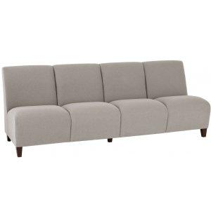 Siena 4-Seat Armless Sofa