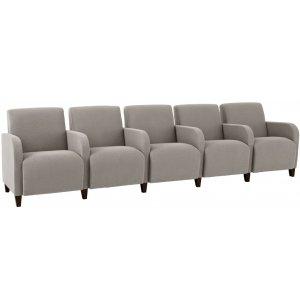 Siena 5-Seat Sofa w/Center Arms