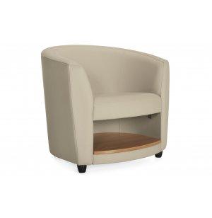 Sirena Lounge Chair with Shelf