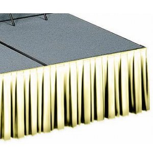 8in Box-Pleat Skirting Light Spun Polyester