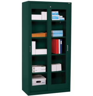 Clearview Sliding Storage Cabinet