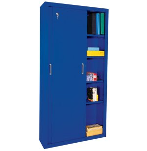 Sliding Door Storage Cabinet
