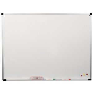 Magnetic Steel Whiteboard with Aluminum Frame