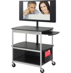 Scoot Open Flat-Panel Multimedia Cart